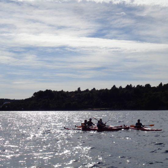 kayak tour  lumbarda korcula