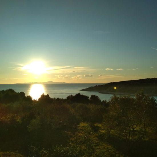 Sunset in Lumbarda