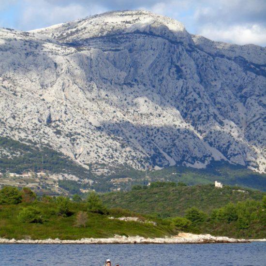 Mount Ilija Peljesac