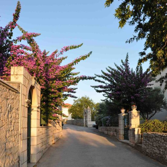stone village in Sunset Lumbarda